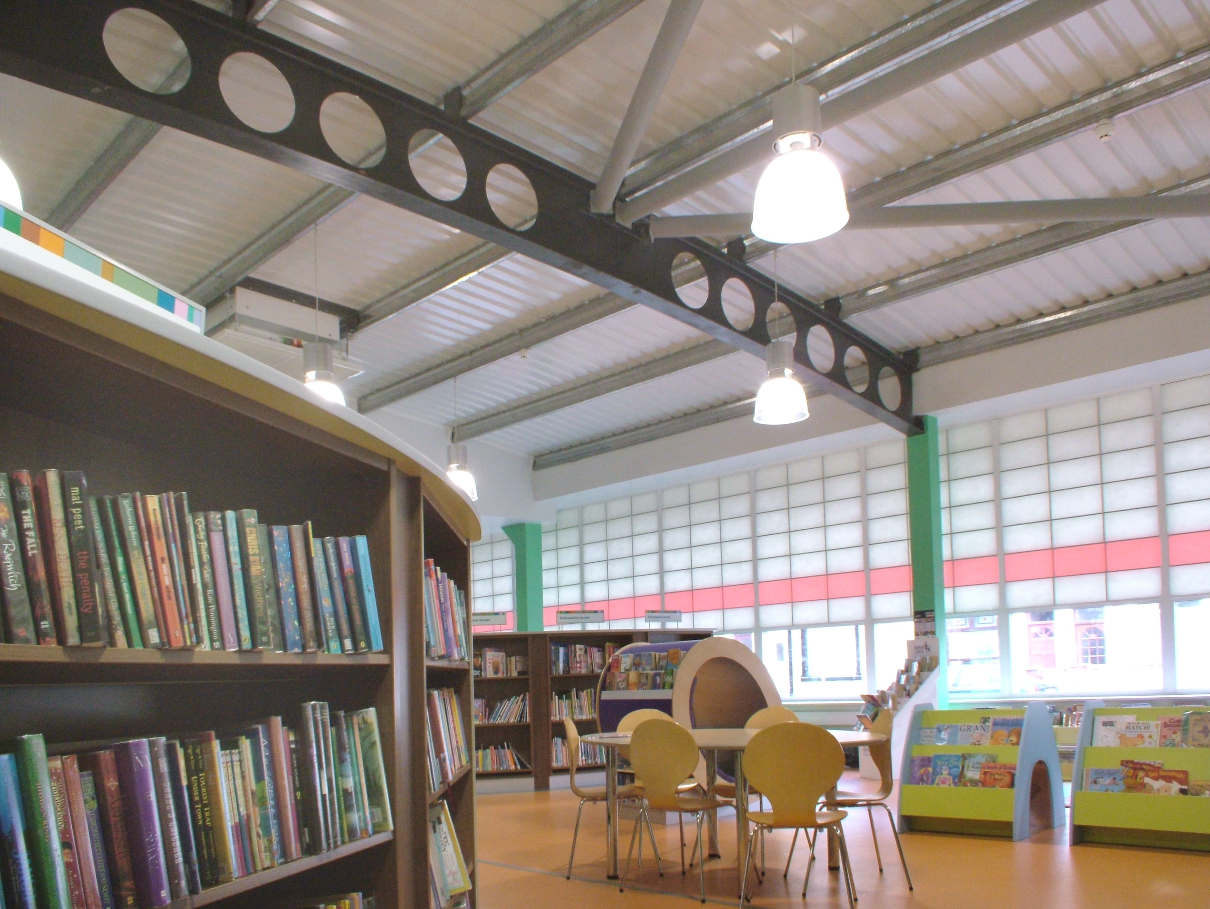 High Street Library - Internal View