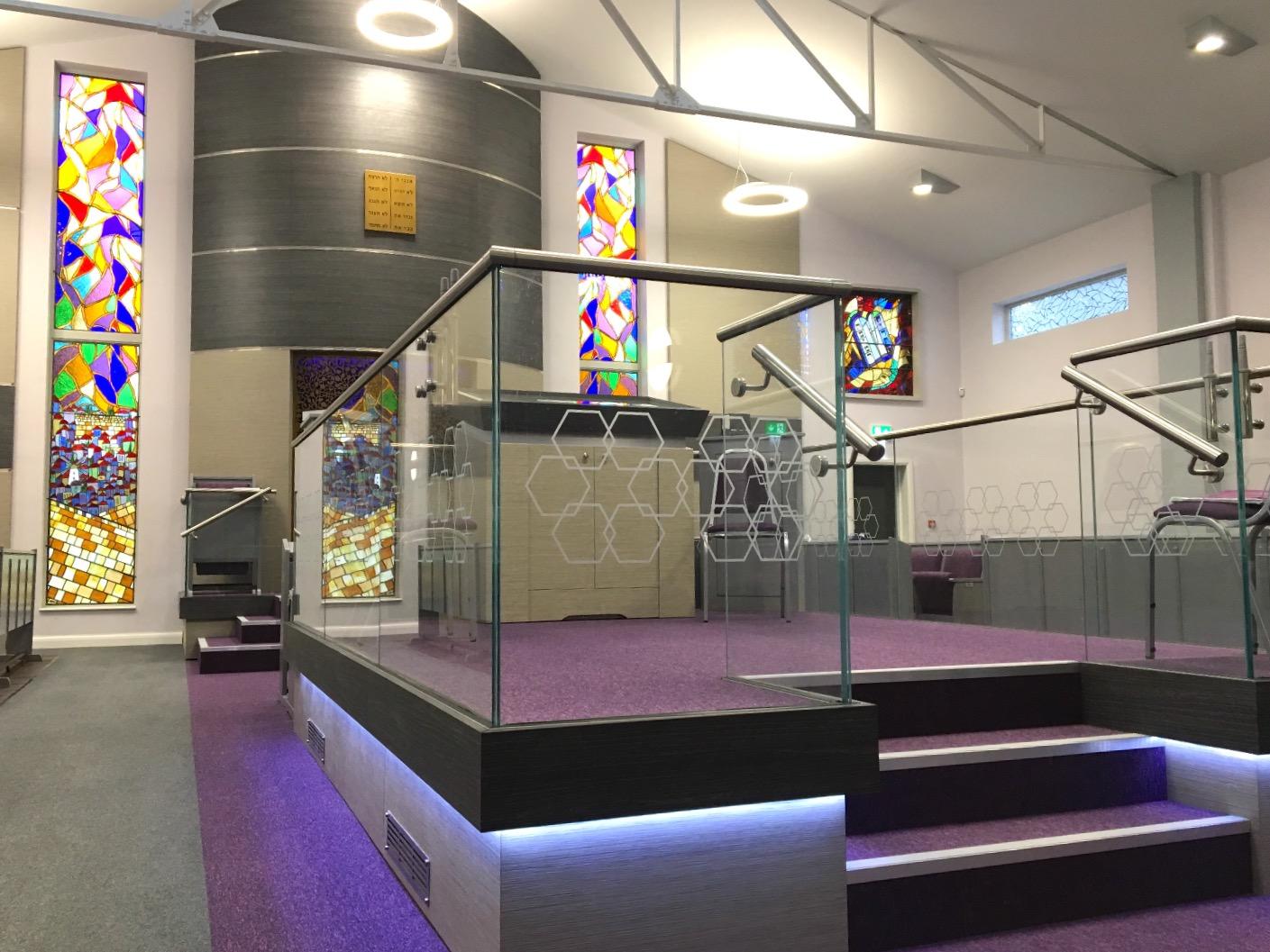 Bimah and Holy Ark