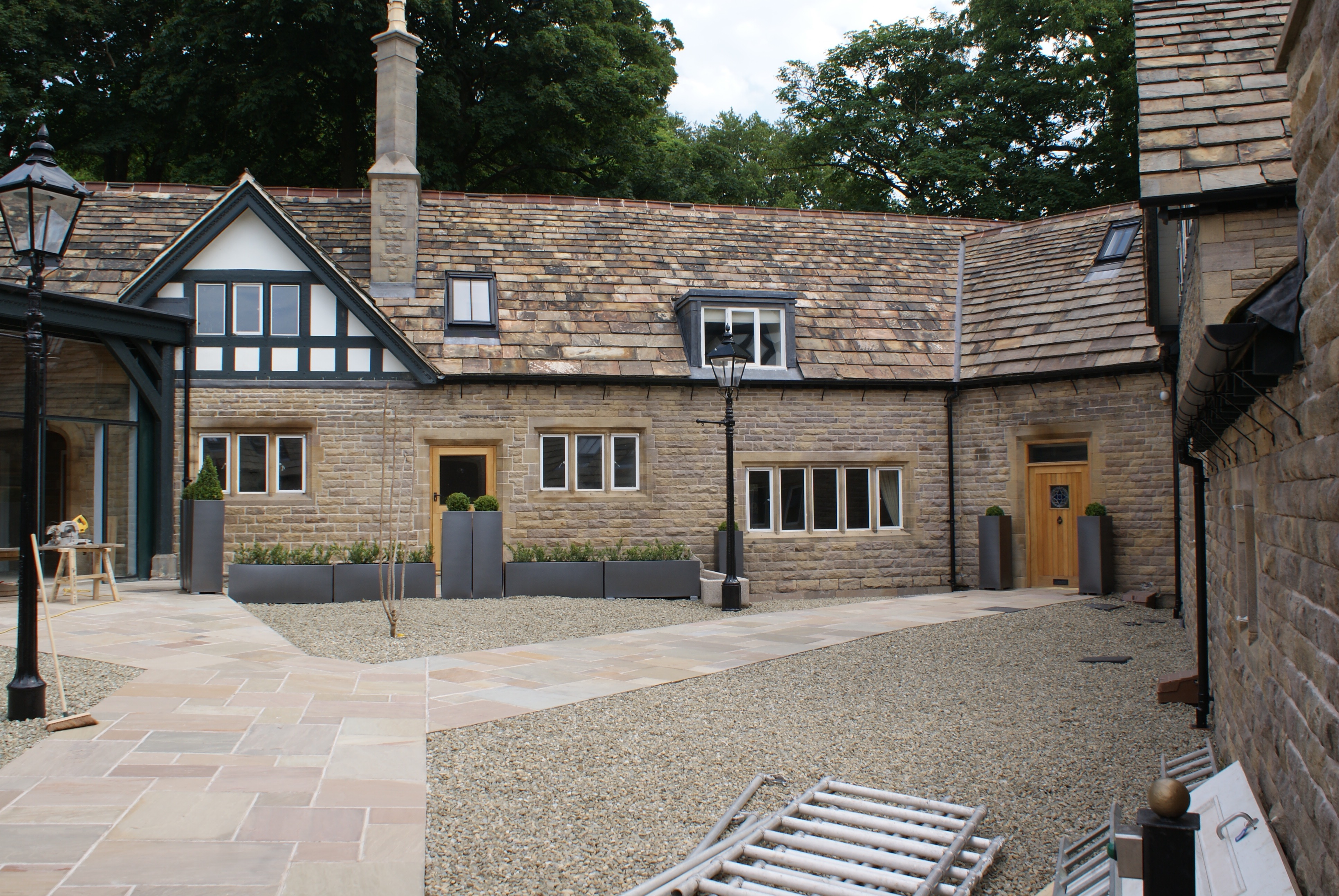 Restored Courtyard