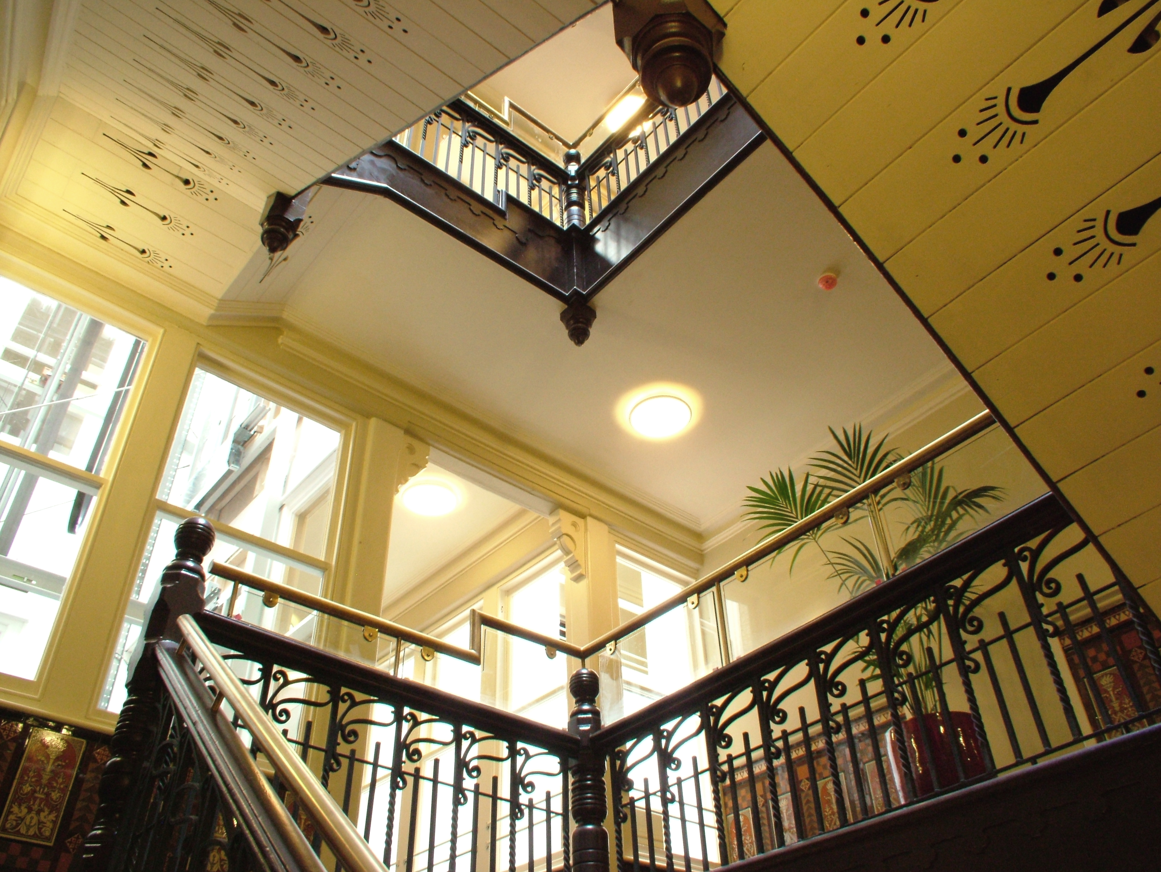 Restored Staircase