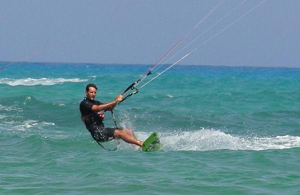 Kitesurf Hastakite istruttori Luca