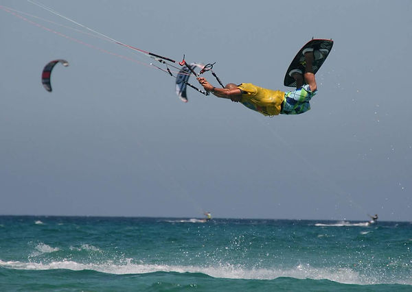 Kitesurf Hastakite istruttori Fabio De Bernardi