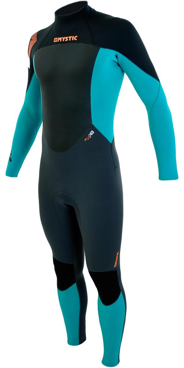 2017-Mystic-Star-5-4-GBS-Sealed-Seam-Back-Zip-Wetsuit-Orange-140040-10