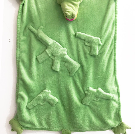 12. Concealed Carry Croc