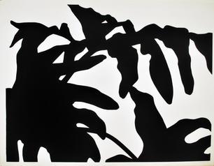 Ann Stoddard Serigraph Leaf Space I.jpg