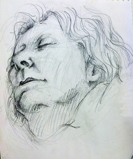 15_Drawing I- Portrait pencil - Mother.j