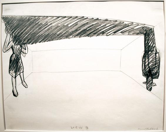 Ann Stoddard Drawing Glass Ceiling 1-B c