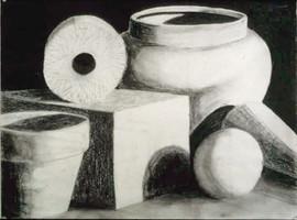 3_Ann Stoddard Drawing I Still Life Char