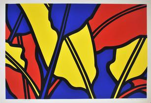 Ann Stoddard serigraph Leaf Jazz.jpg