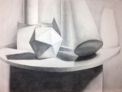 4_Ann Stoddard Drawing I GEO still life.