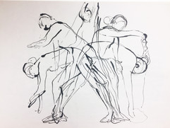 13_Ann Stoddard Drawing I-Moving Gesture