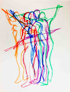 12_Ann Stoddard Drawing I Moving Gesture