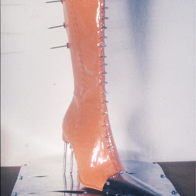 7_Ann Stoddard 3-D Shoe Transform-Boot