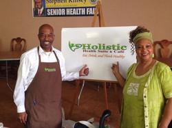 Facebook - Holistic sharing good health at Stephen Kinnsey's health fair at The