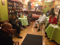 Facebook - With Walter Borum and his guests at his periodic Inner Peace event, a