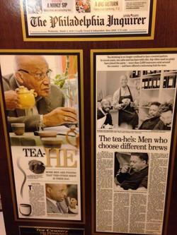 Facebook - Celebrating Five years of the Gentlemen's Tea Club.  In this national