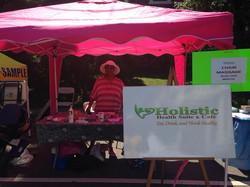 Facebook - Dr.jpg Karen, from Holistic Health Suite & Cafe, sharing good health