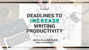 Self-Imposed Deadlines to Increase Writing Productivity