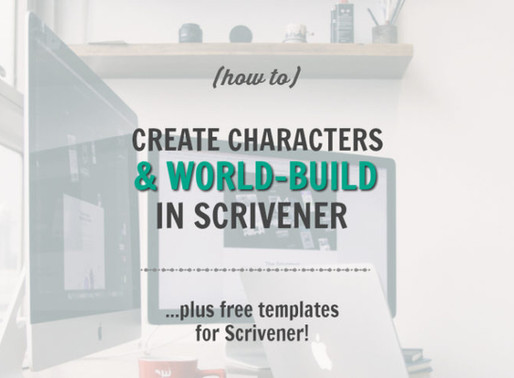 How to Create Characters and Settings in Scrivener