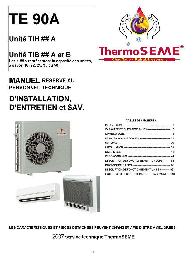 TE 90 thermoseme