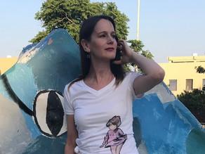 Artee-art on shirt