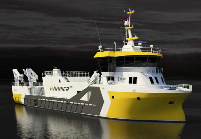 New slaughter boat to Fitjar Mekaniske.