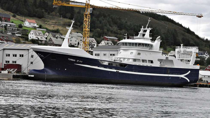 Torbas - The biggest fishing vessel in Sogn og Fjordane