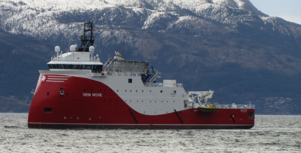Sea-trail in the Hardangerfjord