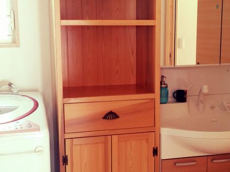 オーダー家具納品しました。