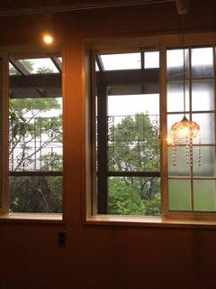 窓からの風景です。
