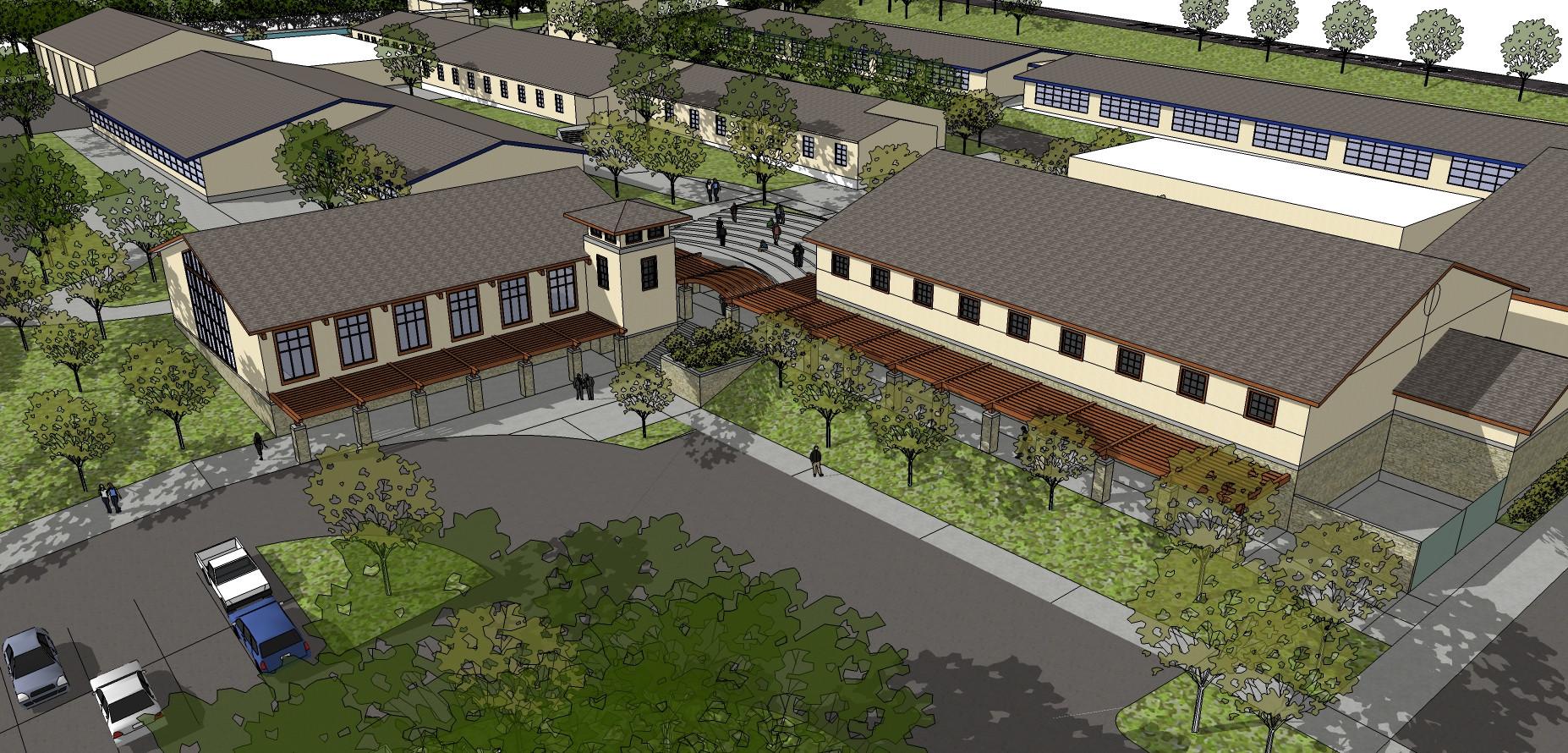 Monterey HS Master Plan