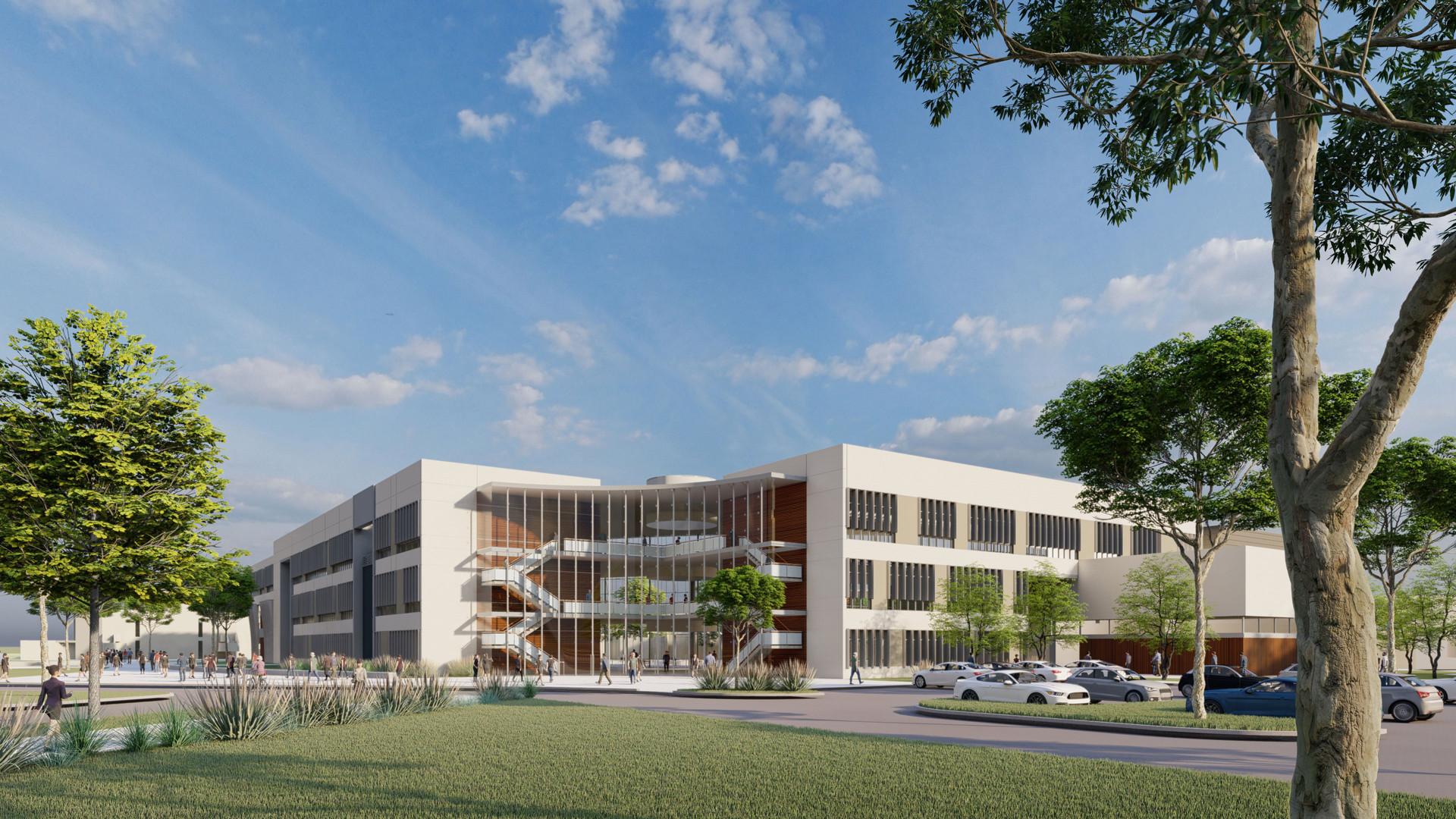 Alameda College CR / Lab Building