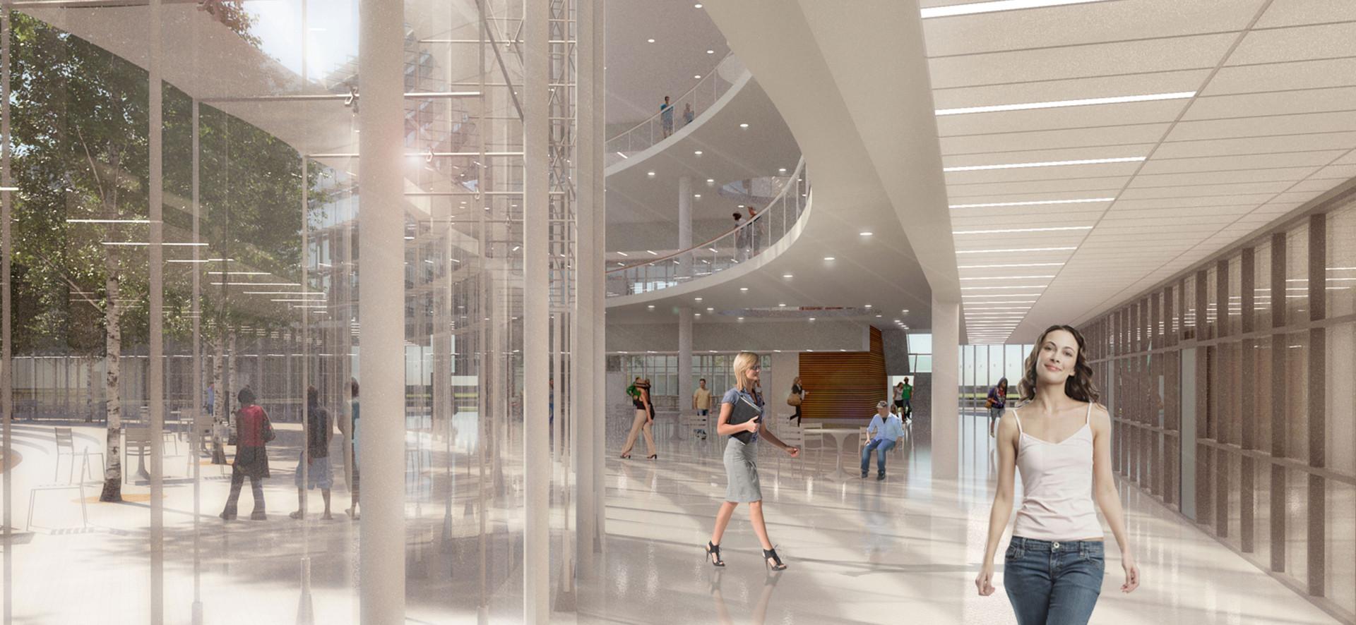 Alameda College Atrium