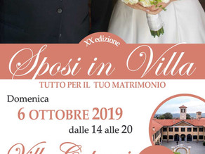 Wedding Open Day - Sposi in Villa