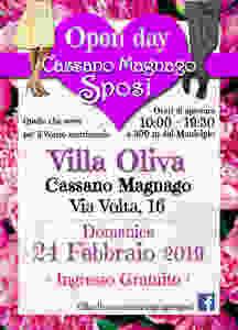 Wedding Open Day - Villa Oliva