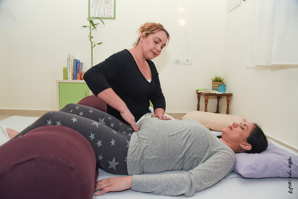 טיפול שיאצו לנשים בהריון