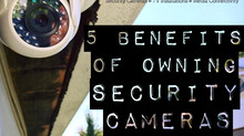 Top 5 Benefits of Protecting Your Property With Security Cameras