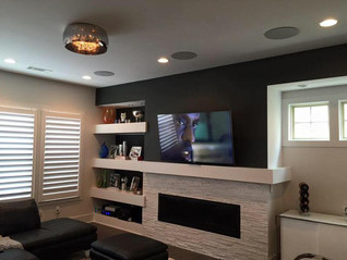 606 Installs   Mounted Tilt TV Installation