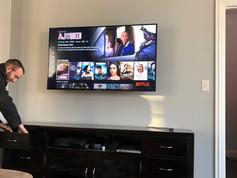 Wireless TV Install