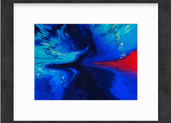 Divine River - Blue