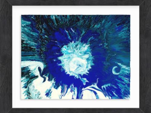 Frozen Blue Chrysanthemum (c) 2020
