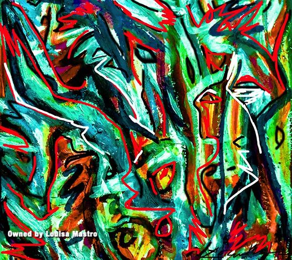 Green Horse  (c) Louisa Mastro-1