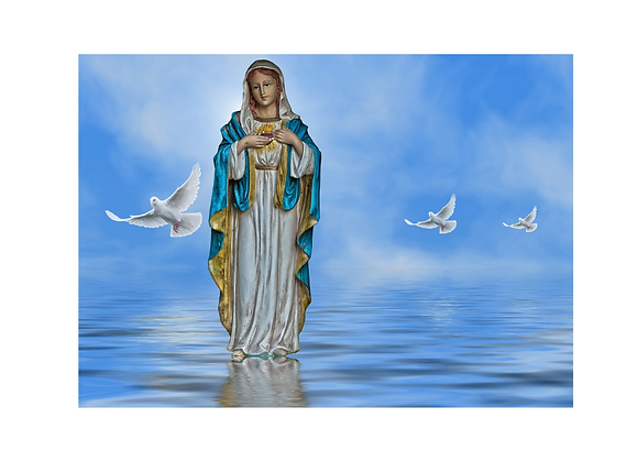 Mother Mary Peace and Prosperity Activation   February 22, 2021