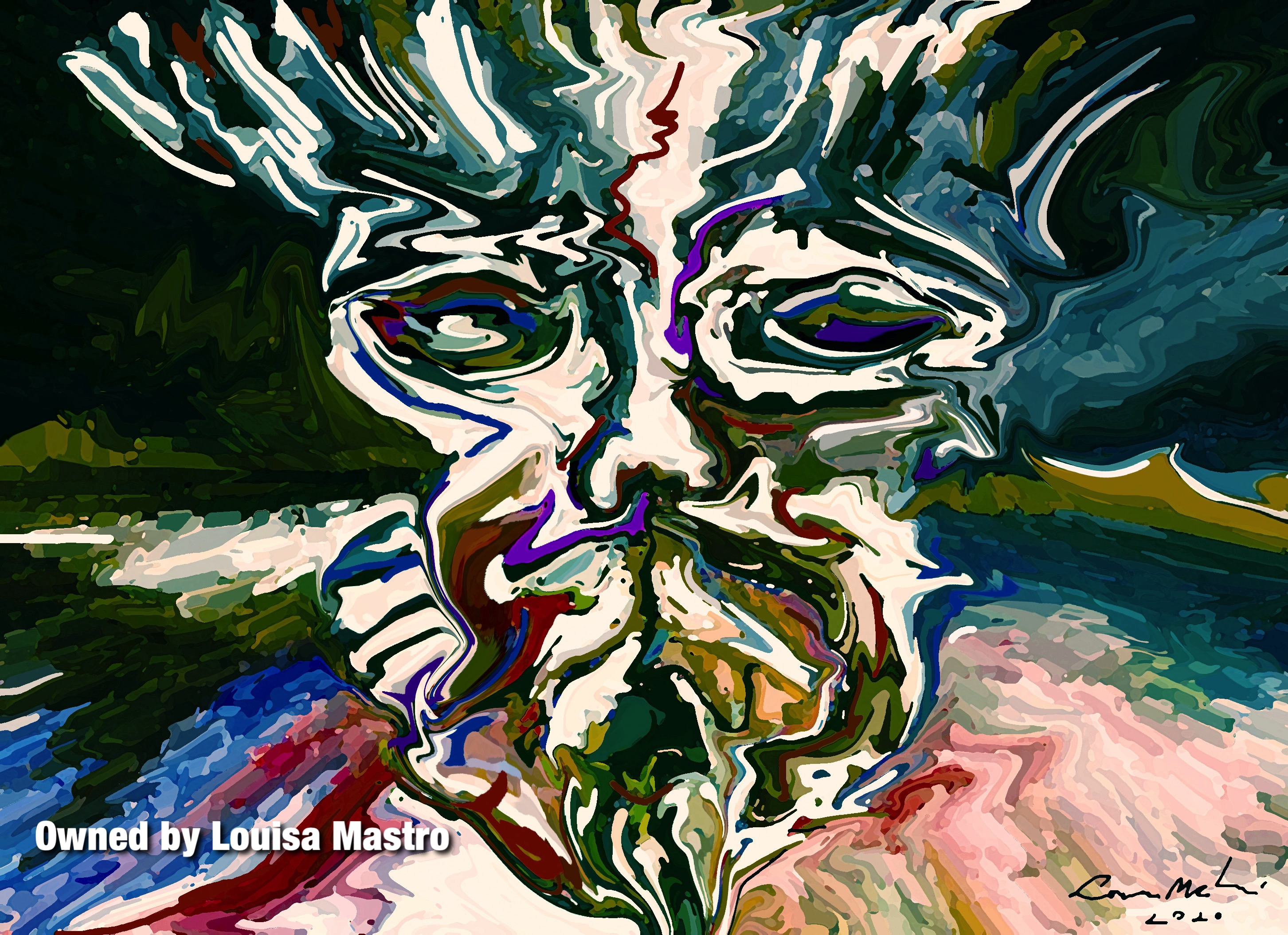 Martyr Clown (c) Louisa Mastro