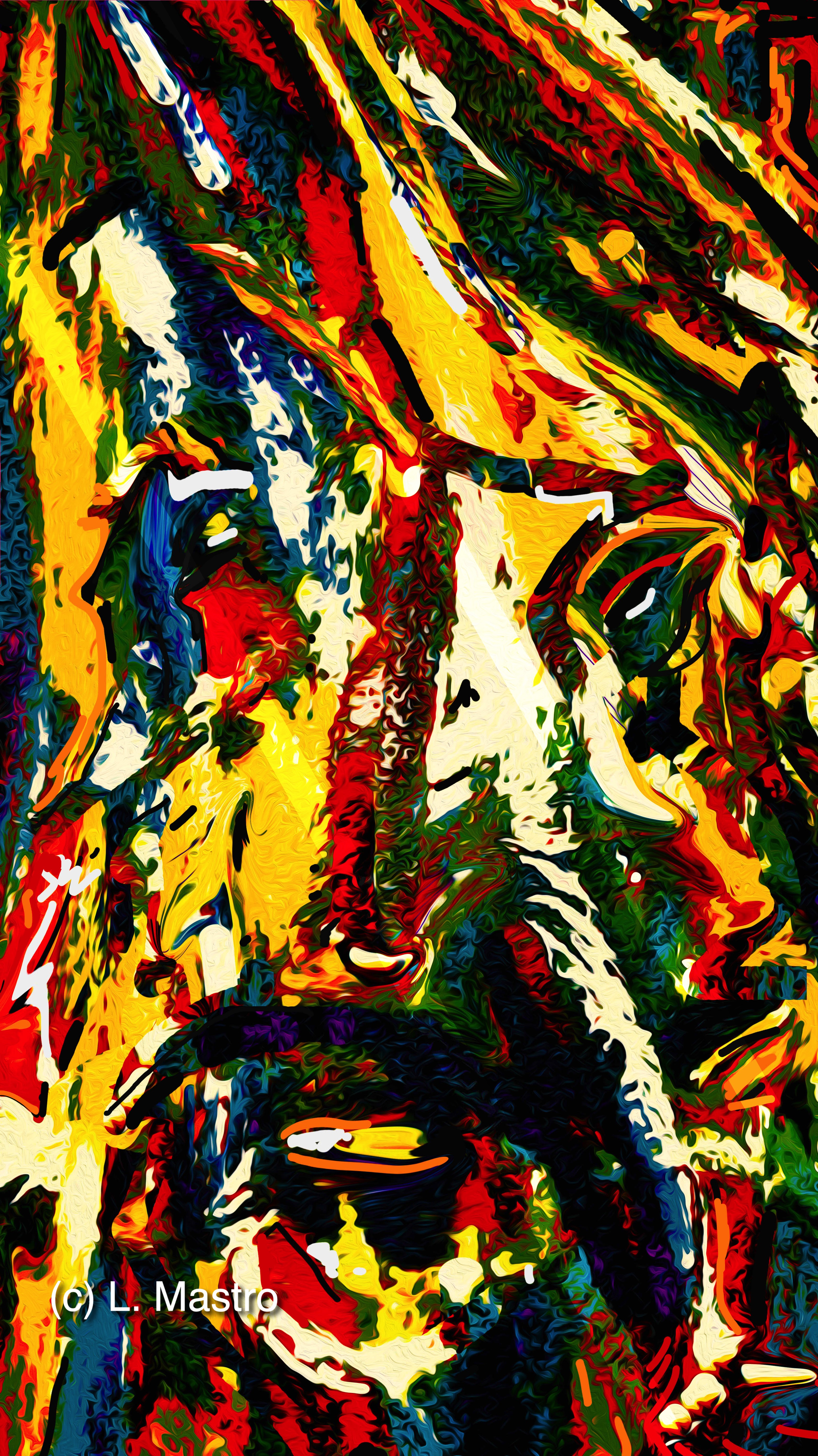 The Painter (c) 2021 Louisa Mastro  All