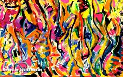 Aztec Lines (c) Louisa Mastro