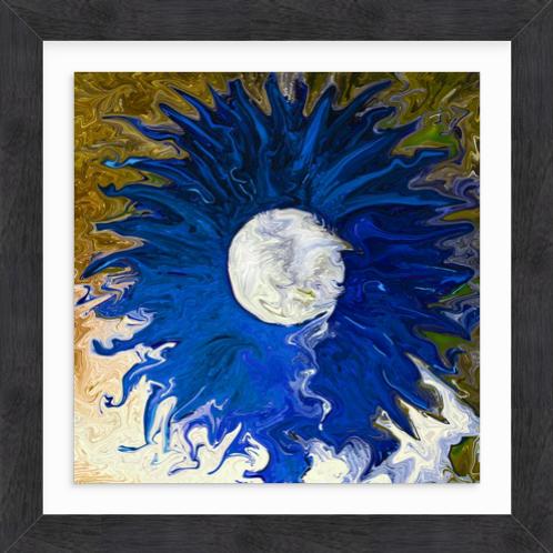 Blue Daisy Cosy