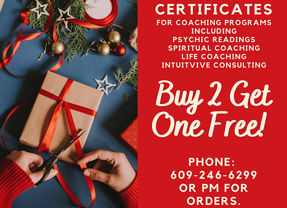 Buy Two Sessions Get One FREE!