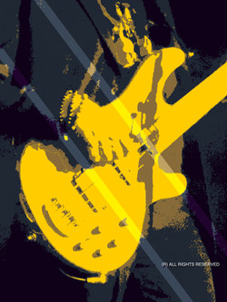 Yellow Guitar 6000 -1
