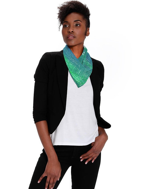 Green Emerald Eco Scarf